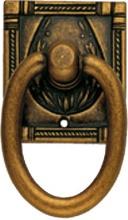 Metal Style MG2912GD Maniglia Ciondolo Mostrina Zama Florance 33x57 2912 Ms