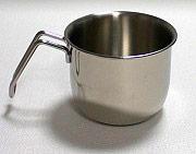 Metalsomma 10812 Bollilatte Pentolino latte ø 12 cm in Acciaio Inox 1810
