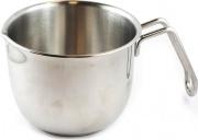 Metalsomma 30812 Bollilatte Pentolino latte ø 12 cm 1 lt in Acciaio Inox 1810