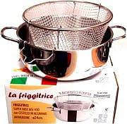 Metalsomma 80324 Cestello Friggitrice ø 24 cm materiale Acciaio inox 1810