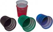 Methodo X851010 Confezione 15 Cestini Gettacarte Rotondi 15 Litri Plastica PS9