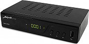 Metronic 011140 Decoder Digitale Terrestre HD DVB T  T2 USB Media Player Nero