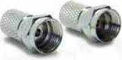 "Metronic 438130 Adattatori Spine a ""F"" Giunto in Stagno per tubi da 5mm"