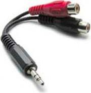 Metronic Cavo Adattatore audio Jack2 RCA MaschioFemmina - 460050