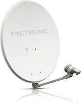 Metronic 498150 Antenna TV esterna 36 dBi Parabola diametro 60 cm