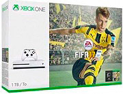Microsoft Xbox One S 1000Gb 1 Tb LAN Wifi+Gioco FIFA 17 Bundle Edition 234-00030