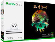 Microsoft 234-00331 Console Xbox One S 1 TB + Sea of Thieves Bianco