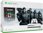 Microsoft 234-01027 Xbox One S 1 TB + Gioco Gears 5 limited edition Bianco