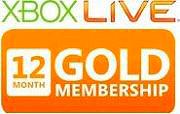 Microsoft Xbox Live Gold per Xbox 360 Xbox 360 LIVE 12m Gold Subscription