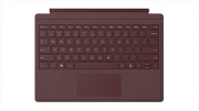 Microsoft Tastiera Cover per Surface Pro in Alcantara colore Bordeaux FFP-00050