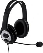 Microsoft JUG-00015 Cuffie Stereo per PC con Microfono USB Nero LifeChat LX3000