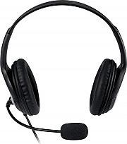 Microsoft Cuffie PC archetto stereo Microfono USB LifeChat LX-3000 JUG-00015