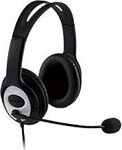 Microsoft Cuffie Stereo per PC con Microfono USB Nero LifeChat LX3000 JUG00015