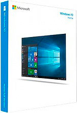 Microsoft Sistema Operativo Windows 10 HOME 64-bit OEM DVD 1 Italiano KW9-00136
