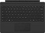 Microsoft Custodia cover tastiera per tablet Surface Pro 4 col Nero QC7-00049