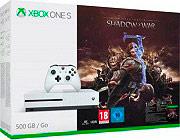 Microsoft Console Xbox One S 500 Gb Bianco + Shadow of War ZQ9-00163
