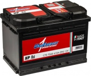 Unienergy by Midac 570038061 L370AH Batteria Auto 70 Ah 610 Ampere mm 275x175x190h 570038061