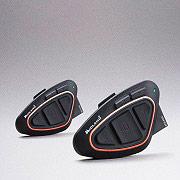 Midland BTX1 PRO 2 PZ HI FI Interfono moto Casco Bluetooth Full Duplex 2 Pz BTX1 Pro Twin HI-FI