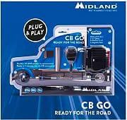 Midland Ricetrasmittente Auto Veicolare CB GO C1262.02