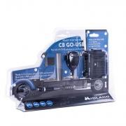 Midland C1262.05 Mini Ricetrasmittente Potenza 4W 40 Canali AMFM  CB GO USB