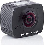 Midland C1288 Videocamera Telecamera 360° Full HD Action Cam Sferica Wifi  H360