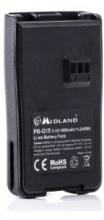 Midland PB-G15 Ricetrasmittente batteria C1128
