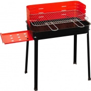Mille 503.A Barbecue Carbonella Portatile Acciaio BBQ Giardino Mensola  Flavia