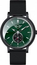 Mini MI-2316M-05M Orologio Uomo Acciaio Analogico Cronografo colore Nero Verde