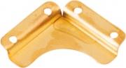 Minutex BLGHU2259 Fermaspecchi Lisci Otton. mm 30x30 Pezzi 100