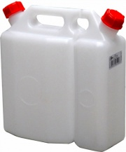 Mobilplastic 61-N Tanica Doppia Benzina - Olio lt 3,75+1,50