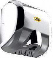 Moel MOE726 Asciugamani elettrico da parete 1800 Watt Acciaio  Bora 726