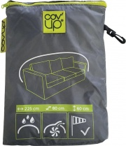Moia CVD06 Telo copertura divano giardino 3 Posti Impermeabile 225x60x80 cm