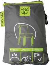 Moia CVD07 Telo copertura sedie Poliestere Impermeabile 66x120x66 cm Grigio