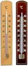 Moller 101016 Termometro Legno Scuro Eco