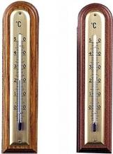 Moller 101436 Termometro Legno Arrot. Noce Scuro