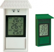 Moller 105054 Termometro Plastica MinMax Dig.Ver.
