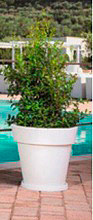 Monacis V1402 Sottovaso per vaso modello gemma ø 50 cm colore bianco