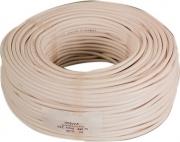 Mondini H05VV-F Cavo Elettrico Sezione 2x0,75 Bianco Metri 100