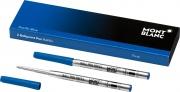 Mont Blanc 116212 Ricaricatore di Penna Blu Fine 2 pezzi