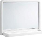 Mosaico 2024 Specchio Bagno con Mensola Rettangolare 35x46 cm Cornice bianca