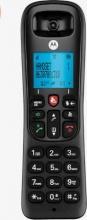 Motorola 107CD4001IT Telefono Cordless CD4001 DECT Identificatore chiamata Nero