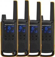 Motorola 59T82EXQUADPACK Ricetrasmittente Walkie Talkie 16 canali 500 mW Talkabout T82 Quad Pack