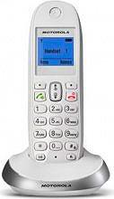 Motorola C2001 WHITE Telefono Cordless vivavoce 100 voci rubrica Col. Bianco