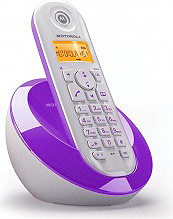 Motorola C601 VIOLET Telefono Cordless DECT col. Viola