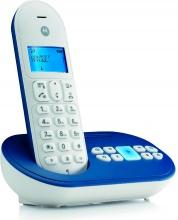 Motorola T111 BL Telefono Cordless DECT con Vivavoce Id Chiamate Blu  EcoMoto
