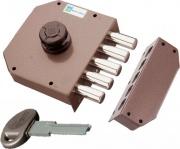 Mottura 30601 Serratura Porta Legno da Applicare Pompa 5 Pistoni E. 63 mm Sx