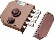 Mottura Serratura Porta Blindata cilindro a Pompa ø34mm Entrata 63mm Dx 30610 DX