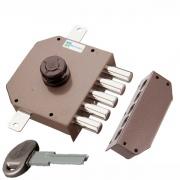 Mottura 30621 Serratura Porta Legno da Applicare Pompa 5 Pistoni E. 63 mm Sx