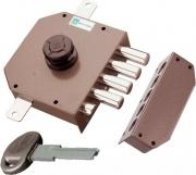 Mottura 30631 Serratura Porta Legno da Applicare Scrocco Pompa Entrata 63 mm Dx