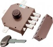 Mottura 30651 Serratura Porta Legno da Applicare Scrocco Pompa Entrata 63 mm Sx